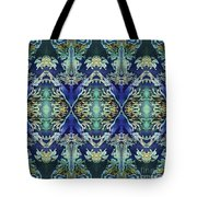 Azuraz Candle Tiled Tote Bag