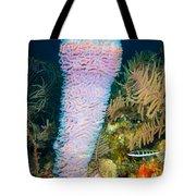 Azure Vase Tote Bag
