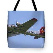B-17g Aluminum Overcast Tote Bag