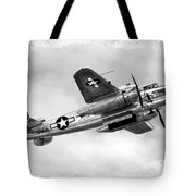 B25 In Flight Tote Bag by Greg Fortier