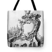 Babel: Fountain Tote Bag