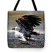 Baby Bald Eagle Movement Tote Bag