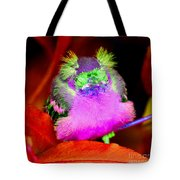 Baby Bird Of A Different Color Tote Bag