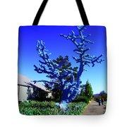 Baby Blue Tree Tote Bag
