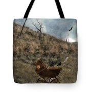 Baby Buggy In Wilderness Tote Bag