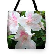 Baby Pink Azaleas Tote Bag