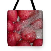 Baby Reds With A Splash Tote Bag