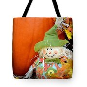 Baby Scarecrow Tote Bag