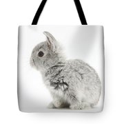 Baby Silver Rabbit Tote Bag