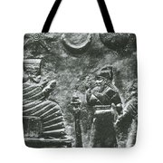 Babylonian Boundary Stone Tote Bag by Science Source