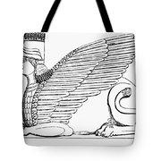 Babylonian Sphinx Tote Bag