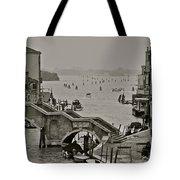 Back Door Of Venice Tote Bag