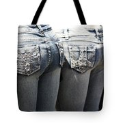 Back End Bling Tote Bag