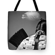 Back Feather Tote Bag