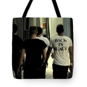 Back In Black Tote Bag