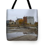 Back Of Warehouse Cold Storage 1 Tote Bag