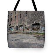 Back Of Warehouse Loading Dock Tote Bag