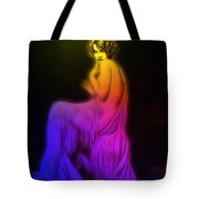 Back To The Twenties Color Tote Bag
