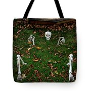 Back Yard Bone Yard Tote Bag by LeeAnn McLaneGoetz McLaneGoetzStudioLLCcom