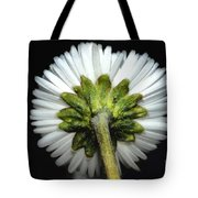 Backside Of A Daisy Flower Tote Bag