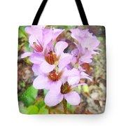 Backyard Blooms Tote Bag