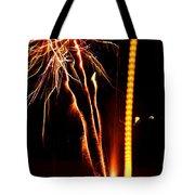 Backyard Fireworks 2012 1 Tote Bag