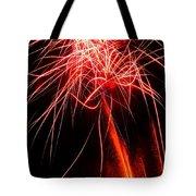 Backyard Fireworks 2012 4 Tote Bag