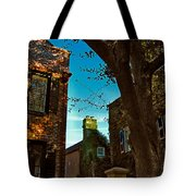 Backyard View Charleston Sc Tote Bag