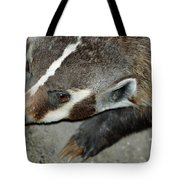 Badger On The Loose Tote Bag