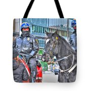 Badges And Horses Tote Bag