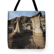 Badland Hoodoos Alberta Tote Bag