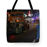 Bagged And Dragged In Austin Texas Tote Bag