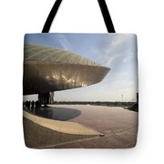 Baghdad, Iraq - A Great Dome Sits At 12 Tote Bag by Terry Moore