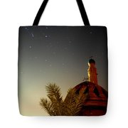 Baghdad Mosque In The Night Tote Bag