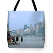 Bahia De Panama Tote Bag