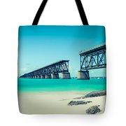 Bahia Hondas Railroad Bridge  Tote Bag