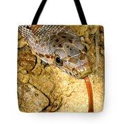 Bairds Rat Snake Tongue Flick Tote Bag