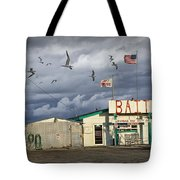 Bait Shop By Aransas Pass In Texas Tote Bag