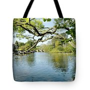 Bakewell Riverside - Through The Branches Tote Bag