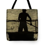 Working Hard For A Living Tote Bag
