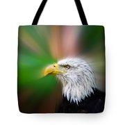 Bald Eagle Color  Tote Bag