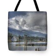 Balfour On Kootenay Lake Tote Bag