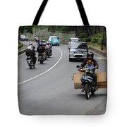 Balinese Transportation Tote Bag