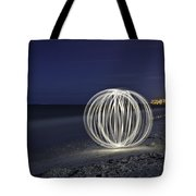Ball Of Light Marco Island Beach Tote Bag