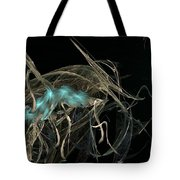 Ballerina Butterfly Tote Bag