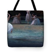 Ballerinas At The Vaganova Academy Tote Bag