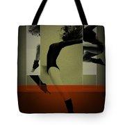 Ballet Dancing Tote Bag by Naxart Studio
