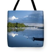 Ballina, Co Mayo, Ireland Morning Tote Bag