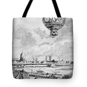 Balloon Flight, 1783 Tote Bag