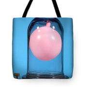 Balloon In A Vacuum, 3 Of 4 Tote Bag